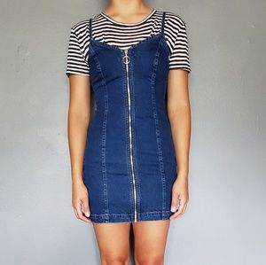 Topshop Moto denim dress